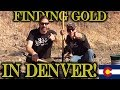 Sluicing for GOLD in Denver, Colorado with LankyWhiteGuy