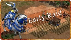 EARLY RAID - Age of Empires II HD Multiplayer Gameplay!