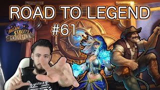 RENO MAGE MACHT FUN | Road to Legend #61 [Hearthstone Deutsch]