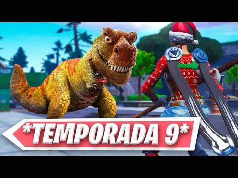 FORTNITE TEMPORADA 9: DINOSAURIOS thumbnail