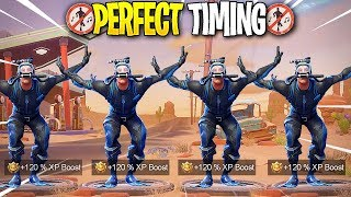 *NEW* Fortnite Dances At The Same Time! #3 - Fortnite - Perfect Timing Compilation!
