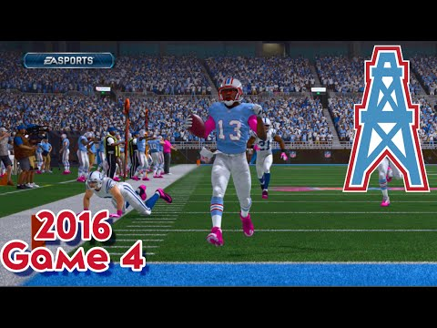 Madden 15 Franchise Mode: Houston Oilers | Season 3, Game 4 Vs Colts | Heartbreak Hotel?