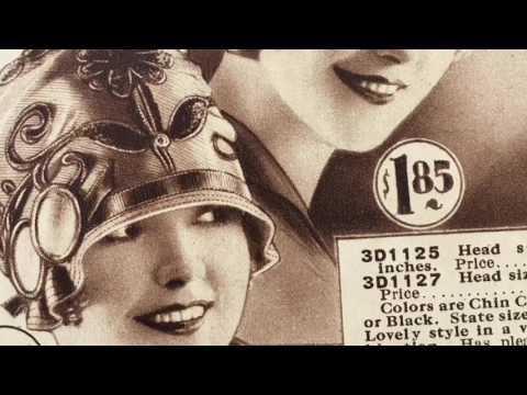 Vintage Hats 1920s Flapper Styles