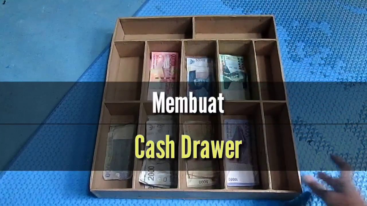 How To Make Cash Drawer Easy Cardboard