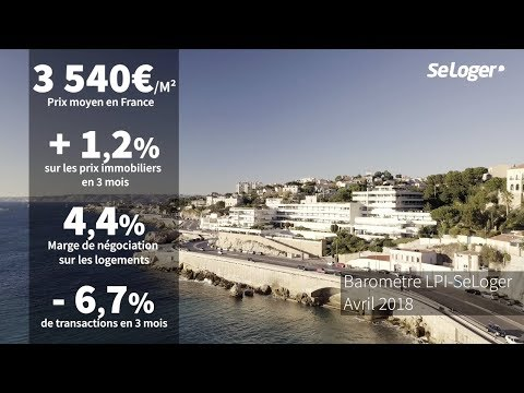[Baromètre] Les prix immobiliers en France - Avril 2018