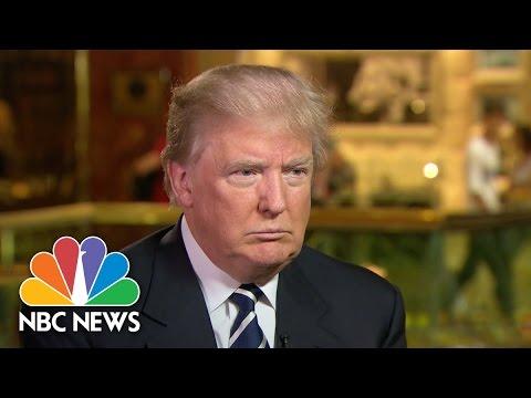 Donald Trump: 'I Will Win The Latino Vote' (Full Interview)   NBC News