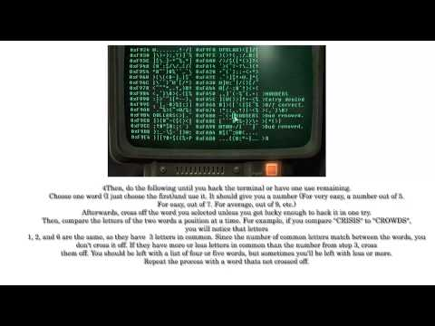 How to Hack a Computer Terminal