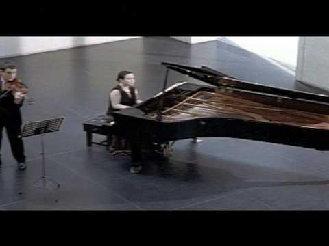 (1/2) The Kreutzer Sonata - Jack Liebeck, Katya Apekisheva, Rafael Bonachela, Dir. Tim Meara