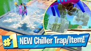 NEW Chiller Trap Gameplay + Playground options - Fortnite Battle Royale
