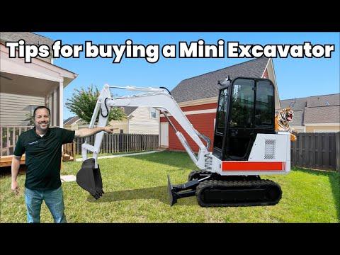 Mini Excavator for Sale! Tips Before You Buy That Mini Excavator! ConEquip 101