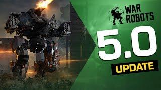 War Robots Update 5.0 Overview (5th Anniversary Event, Ragnarok Squad, Invader & Blitz Rebalance)
