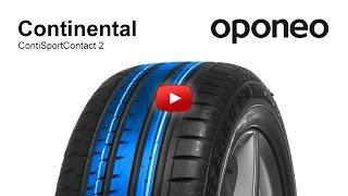 видео Continental ContiSportContact 2