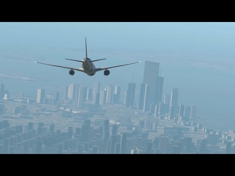 9/11 | AA Flight 11 - Crash Animation [X-Plane 11]