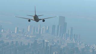 9/11 | AA-Flug 11 - Crash Animation [X-Plane 11]
