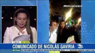 Nicolás Gaviria presentó disculpas a la Policía - 04 de Marzo de 2015