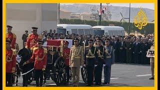 بالفيديو.. تشييع حسني مبارك عسكريا 🇪🇬