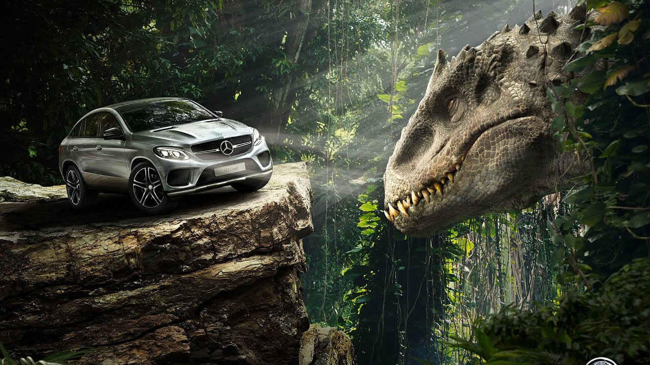 Jurassic World Chrome Theme And Wallpaper