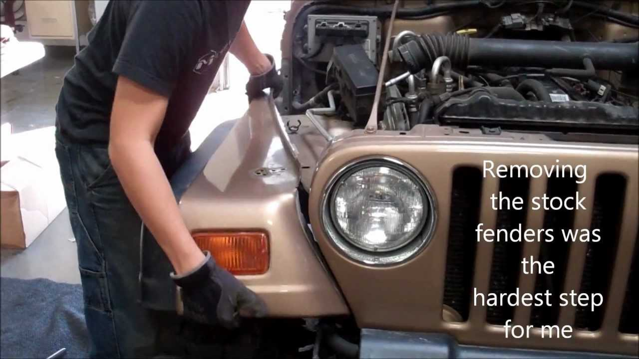 Metalcloak Tube Fenders Are Easy To Install Youtube
