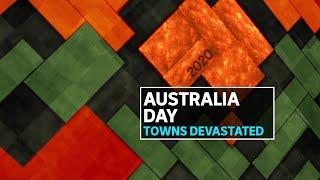 Bushfire-devastated Batemans Bay celebrates Australia Day with typical Aussie resilience | ABC News