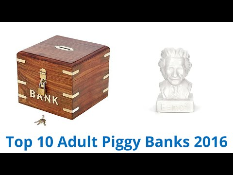 10 Best Adult Piggy Banks 2016