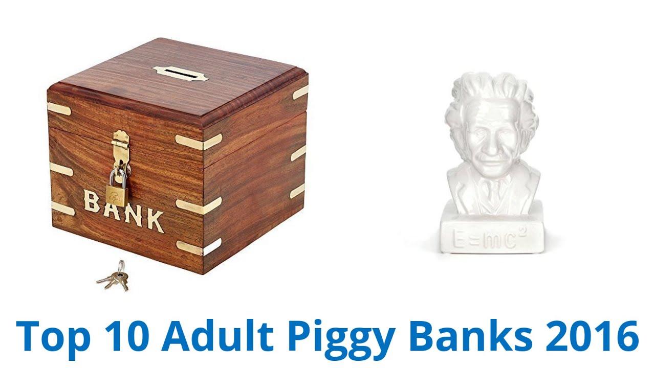 10 Best Adult Piggy Banks 2016 - YouTube