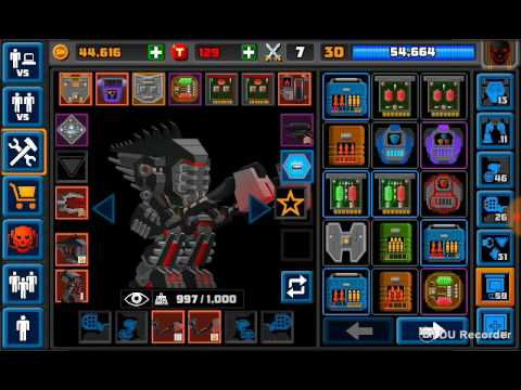 Super Mechs Hacked All Weapons