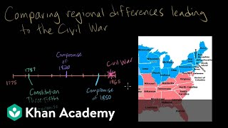 Sectional conflict: Regional differences | Period 5: 1844-1877 | AP US History | Khan Academy