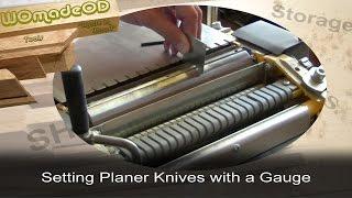 Planer/thicknesser Gauge