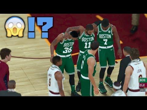 Boston Celtics vs Cleveland Cavaliers!NBA開幕戦を2Kでやったら予想外の展開に…