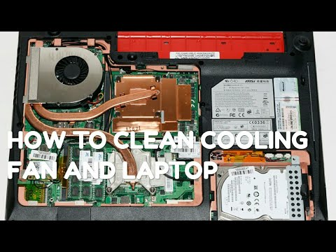 How to clean Laptop/PC cooling fan in Lenovo g570& in any other laptop new tricks to clean upcoolfan