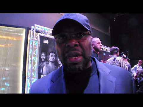 DON CHARLES SAY WE'RE NOT FIGHTING JOE JOYCE POST DILLIAN WHYTE VS LUCAS BROWNE PRESS CONFERENCE