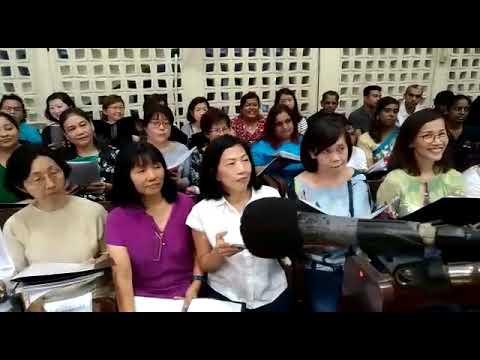 Combined Choir of Assumption Church PJ sings Tamil hymn Nandri Nandri Yen Yesuvae