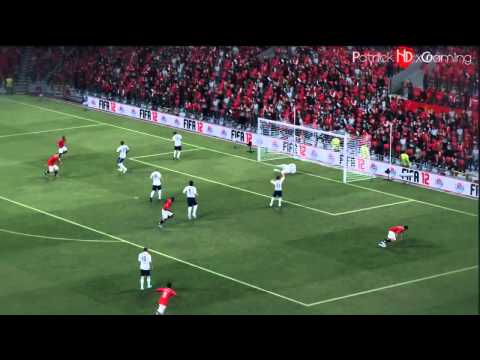 FIFA 12 I Finishing Tutorial - How To Score Goals In Fifa 12 - Commentary/Gameplay