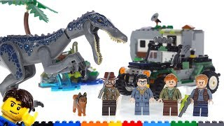 Baixar LEGO Jurassic World Baryonyx Face-Off review! 75935