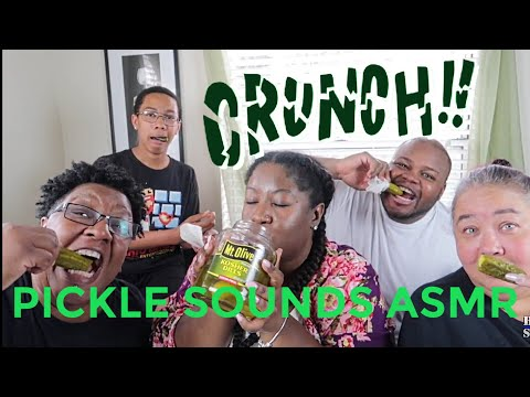 Pickle ASMR Eating Sounds/BIG Crunch/Intense (FAMILY EDITION)