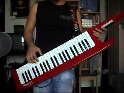 Leandro Amato Solo Keyboard (Keytar) Stratovarius, Van Halen, Sonata Arctica cover