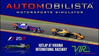 Automobilista - Hotlap of Virginia International Raceway in the Formula Ultimate (1:19.176)