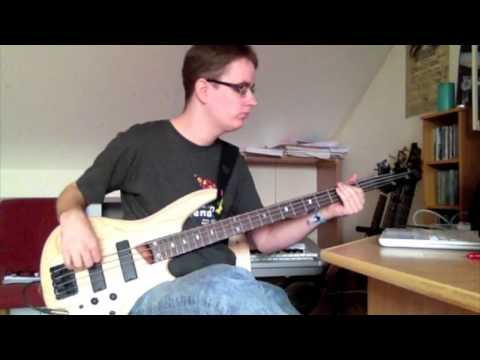 Flying Colors - Blue Ocean (bass cover)