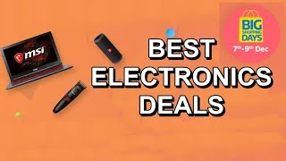Flipkart Big shopping days 2017 - Best Electronics Deals