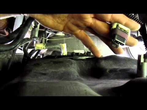 Chevy fuel tank removal - YouTube