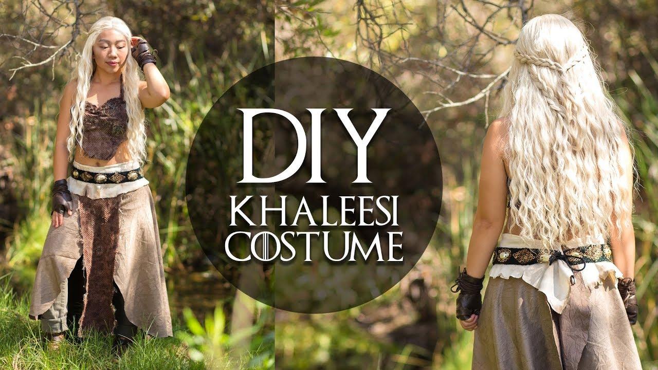 Daenerys From Game Of Thrones Diy Khaleesi Costume