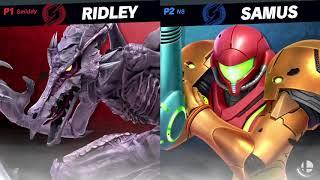 Super Smash Bros. Ultimate Ridley Live Gameplay Demo - E3 2018