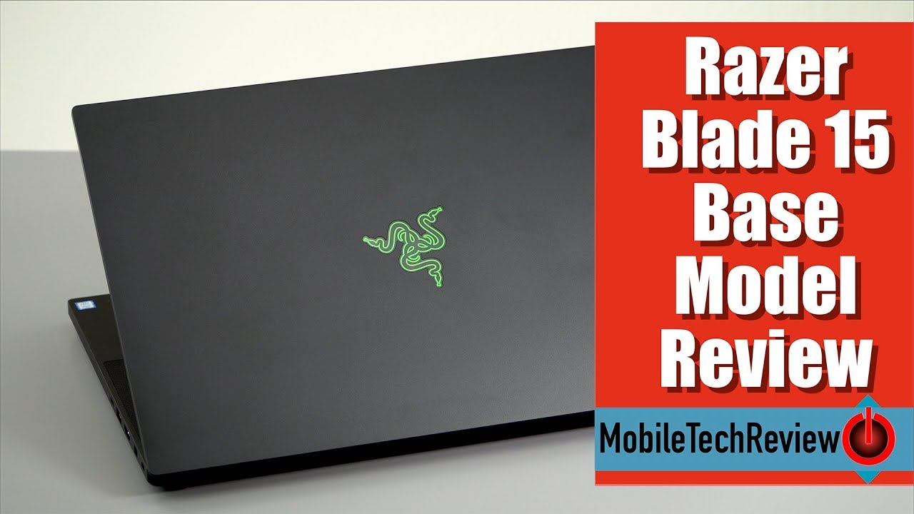 5c4403bdf7c7 Razer Blade 15 Base Model Review- the More Affordable Model - YouTube
