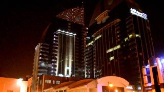 Al Anoud Tower 2, Riyadh, Saudi Arabia - Sparkling Pixels White Animation
