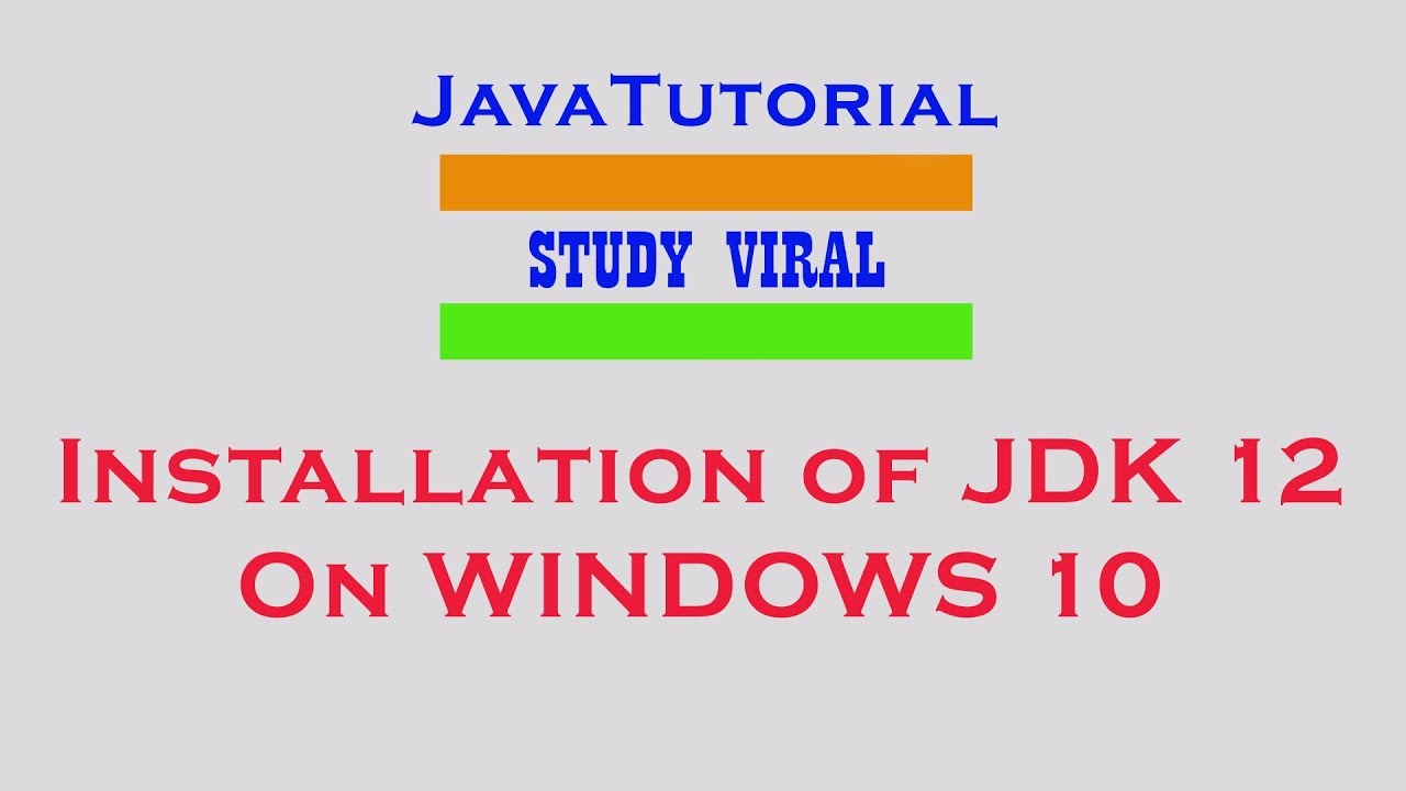 Study Viral (Java Tutorials For Beginners - Step By Step)