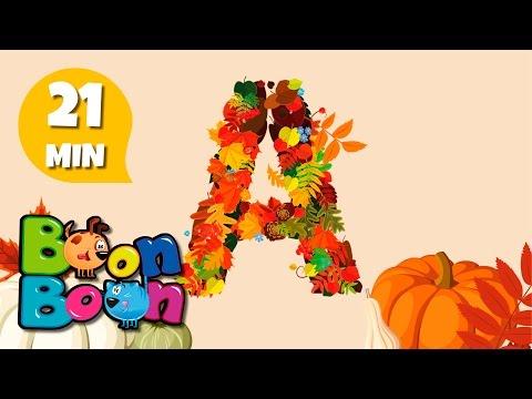 A, a, a acum e toamnă da - Cântece de toamnă pentru copii | BoonBoon
