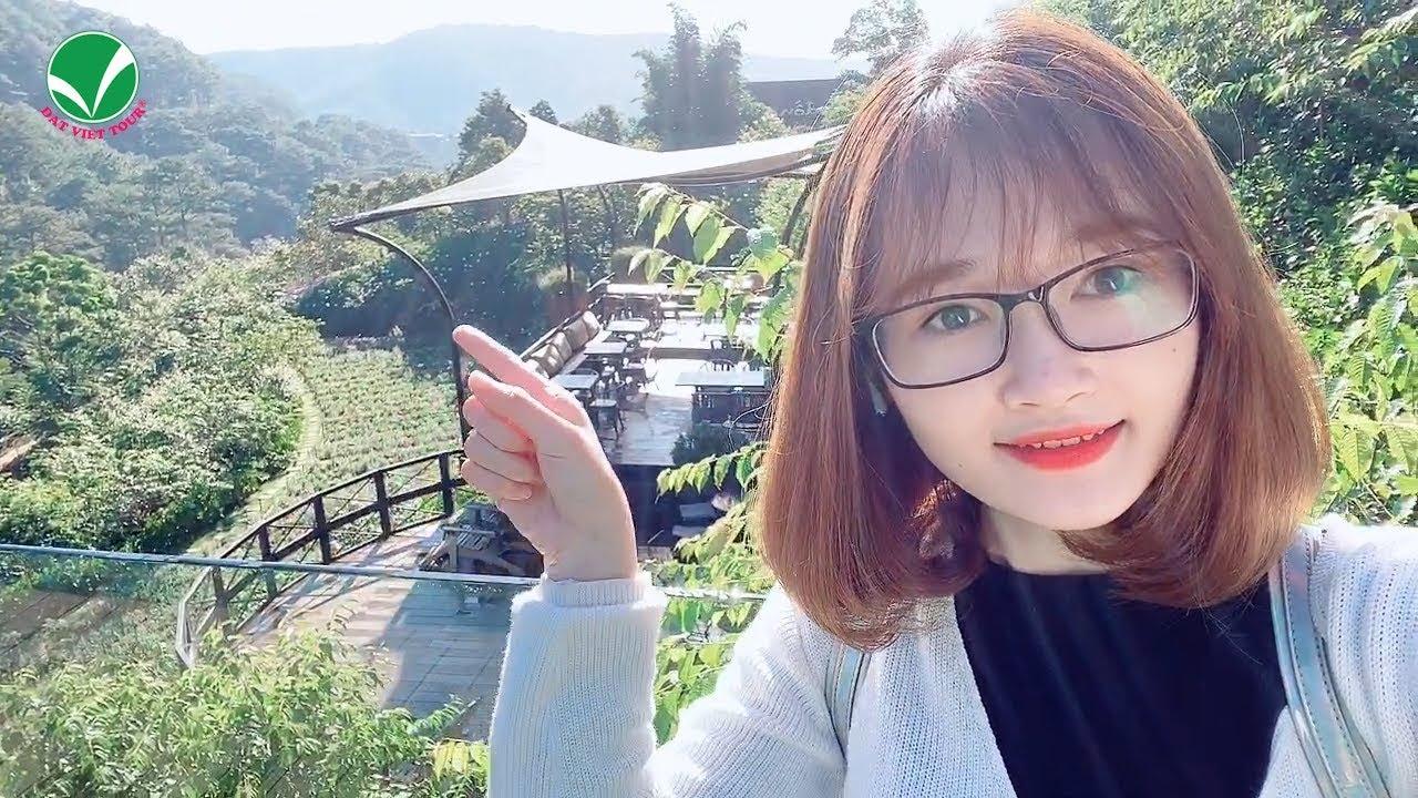 [Review] Cafe F Cánh đồng hoa Đà Lạt – Nơi sống ảo triệu like | Đất Việt Tour