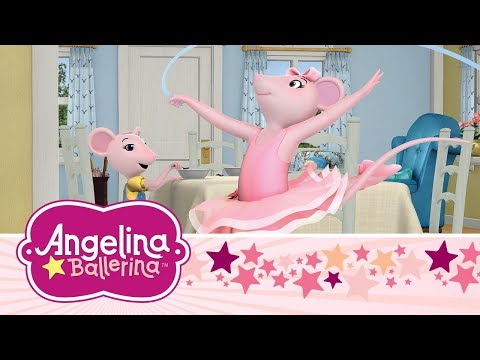 Angelina Ballerina Latinoamérica ⭐🎵 Diversión con Amigos y Familia (3 Episodios Completos)