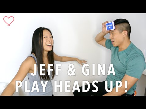 Jeff and Gina Play Heads Up