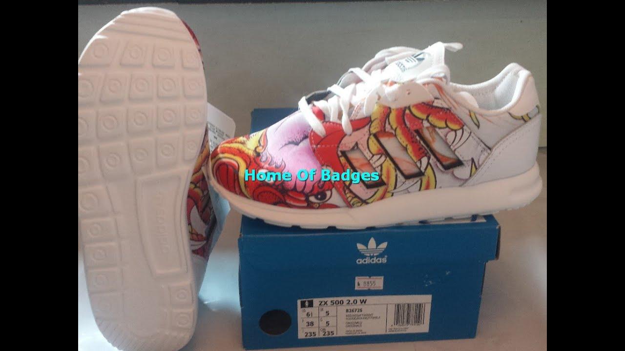 705d0265a ... hot 20150531 adidas originals 2015 q2 women zx 500 2.0 rita ora fashion  sneakers b26722 youtube